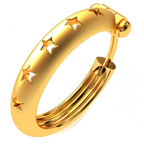 Star Round Earring