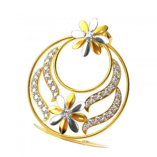 Chandbali Earrings Gold