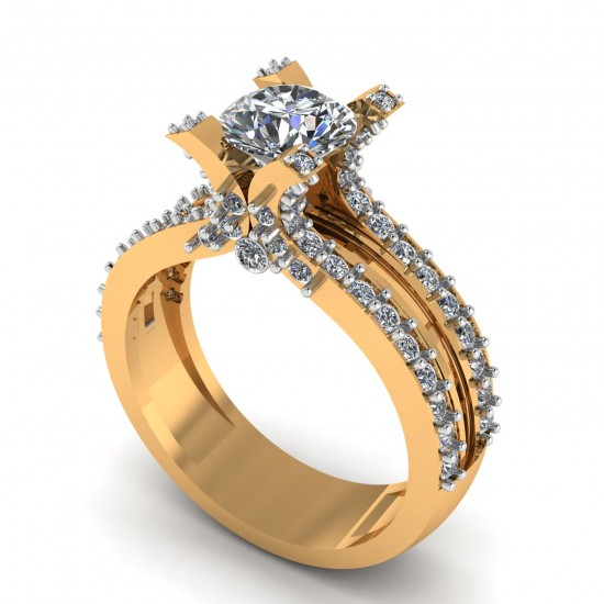 Gents Solitaire Engagement Ring