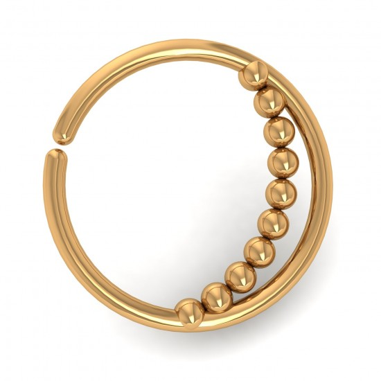 Ball Gold Nose Ring